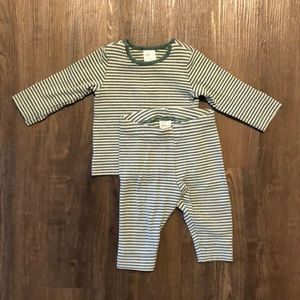 H&M Baby top and bottom set